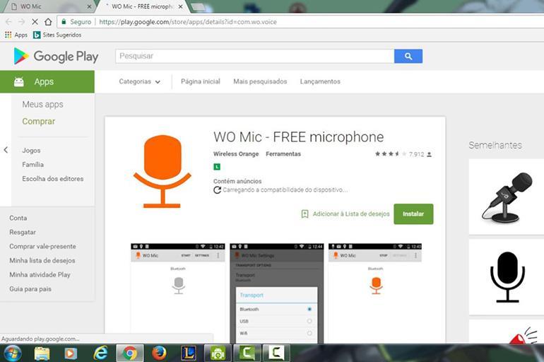 WO Mic Free Microphone