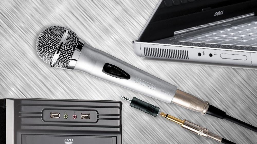Подключение микрофона