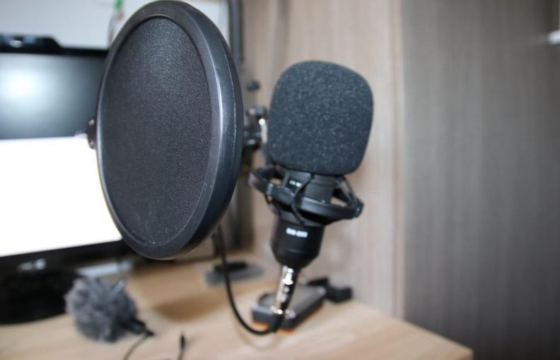 Микрофон шипит