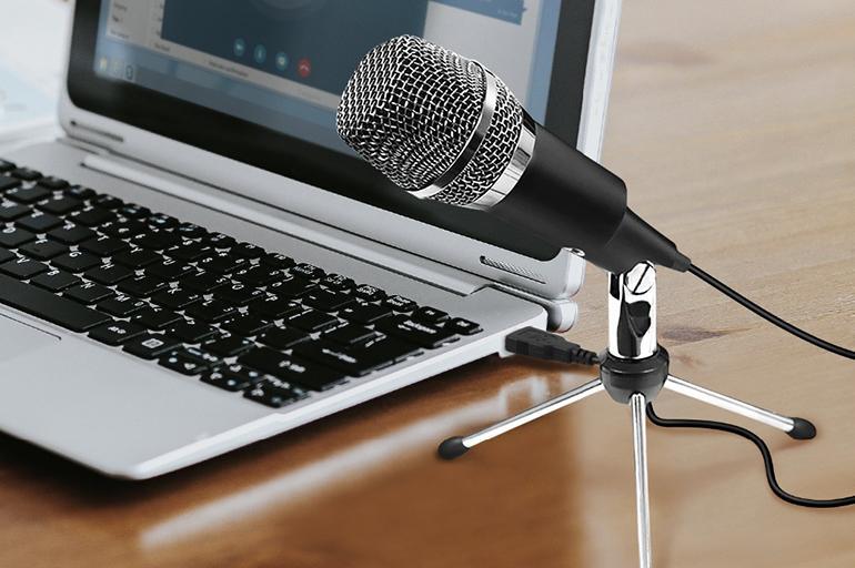 Подключить микрофон