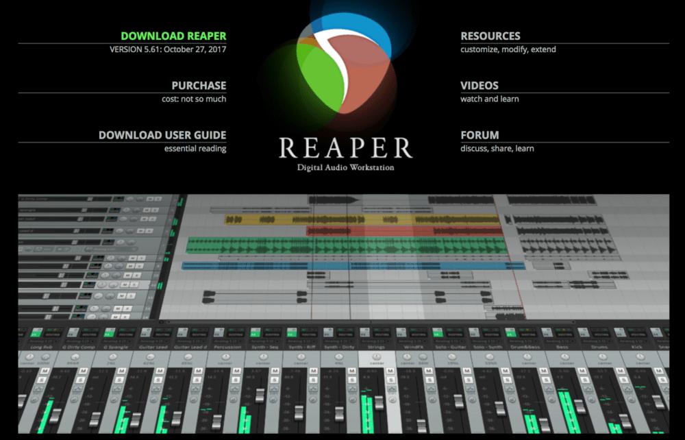 Программа Reaper