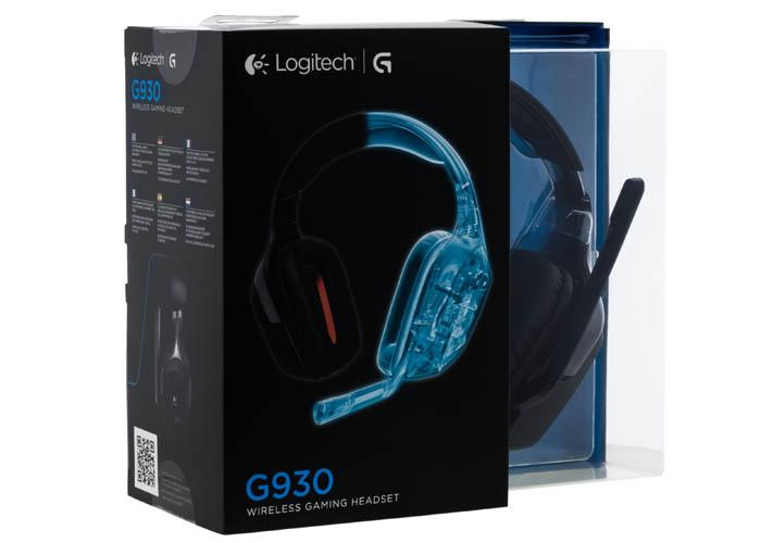 наушники Logitech Wireless Gaming Headset G930