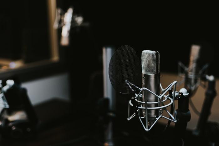 микрофон для студийной записи